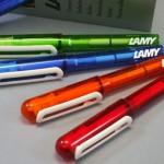 LAMYのペン、ランキングベスト3をご紹介☆