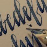 万年筆ってこんな書き心地なんだ・・・!と感動する動画